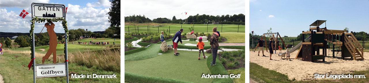 Made in Denmark, Adventure Golf, Legeplads mm